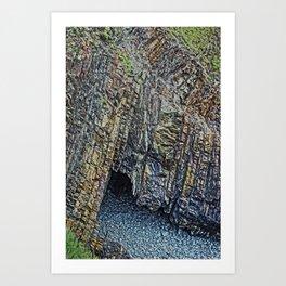 Hartland Quay Devon Art Print