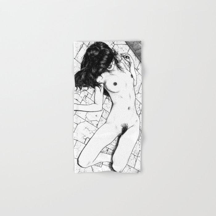 asc 657 - Le mystère de la Rue de Cluny (The housewife nightmare) Hand & Bath Towel