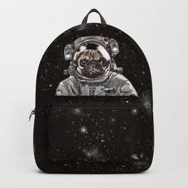 Astronaut Pug Selfie Backpack