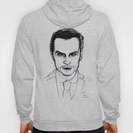 Andrew Scott as Jim Moriarty from Sherlock Etching Hoody