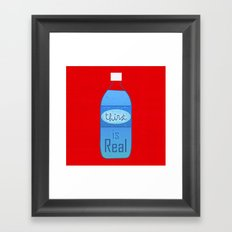 Thirst (is Real) Framed Art Print