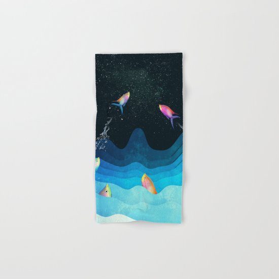 Come to reach the stars Hand & Bath Towel