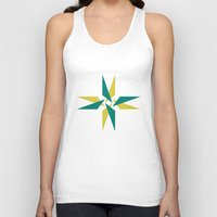 compass Tank Tops featuring Compass by Tyler Warnes
