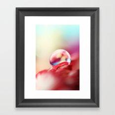 Dreamy Droplet Framed Art Print
