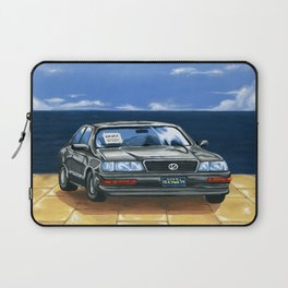 Street Fighter II Bonus Stage Car Laptop Sleeve