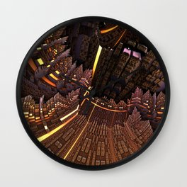 Promotion of coats Wall Clock