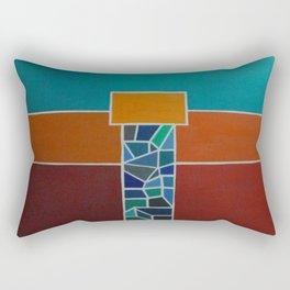 """Temple"" Rectangular Pillow"