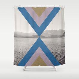 Boho Arrows of Lake Wanaka Shower Curtain