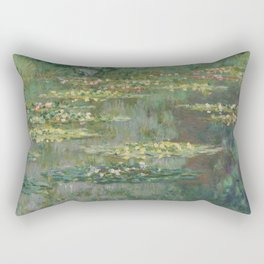 Le Bassin des Nympheas Rectangular Pillow