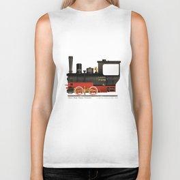 Locomotive  Biker Tank