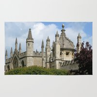 spires Area & Throw Rugs featuring Oxford Spires by Ann Horn