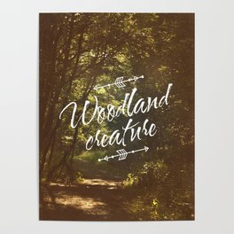 Woodland creature Poster