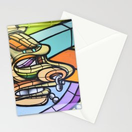 Mural by Don Rmix Stationery Cards