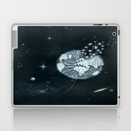 Blowing in Space Laptop & iPad Skin