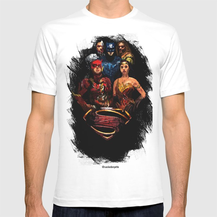 JL We can be heroes T-shirt