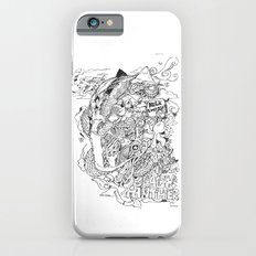 BLACK PANTHER DOODLE iPhone 6s Slim Case
