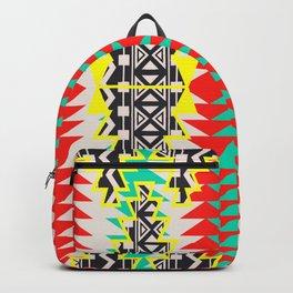 Tribal Beat Geo Neon Backpack