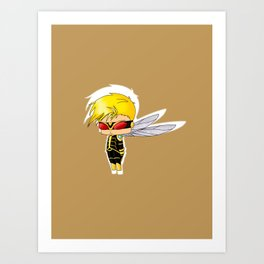 Chibi Wasp Art Print