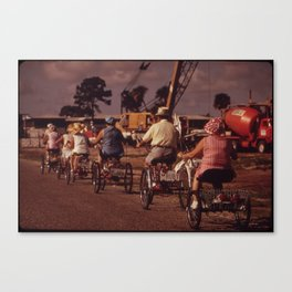 Tricycle Club Canvas Print