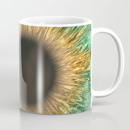 The Green Iris Coffee Mug