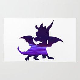 Spyro Crystal Islands Skybox Rug