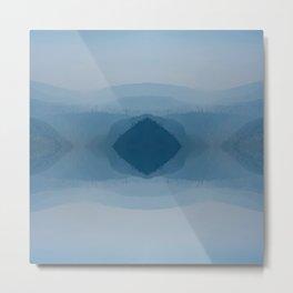 Abstraction, Smoke Metal Print