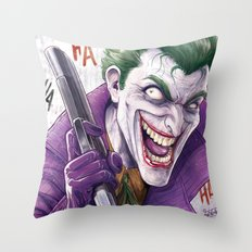 Joker NYCC 2015 Throw Pillow