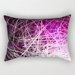 Stacked Boxes3-Purple Rectangular Pillow