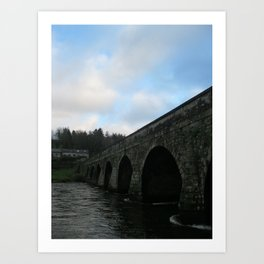 Inistioge Bridge, Ireland Art Print