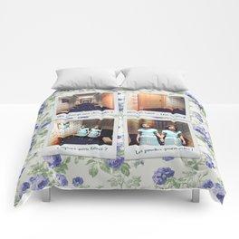 Jumelles et Chocolat Comforters