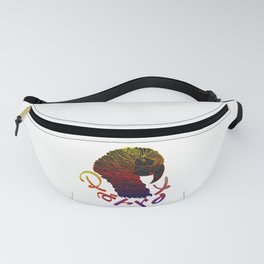 Cubism Parrot V Multicolored Fanny Pack