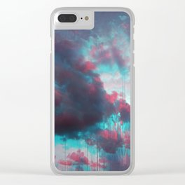 Rainy Sky Clear iPhone Case
