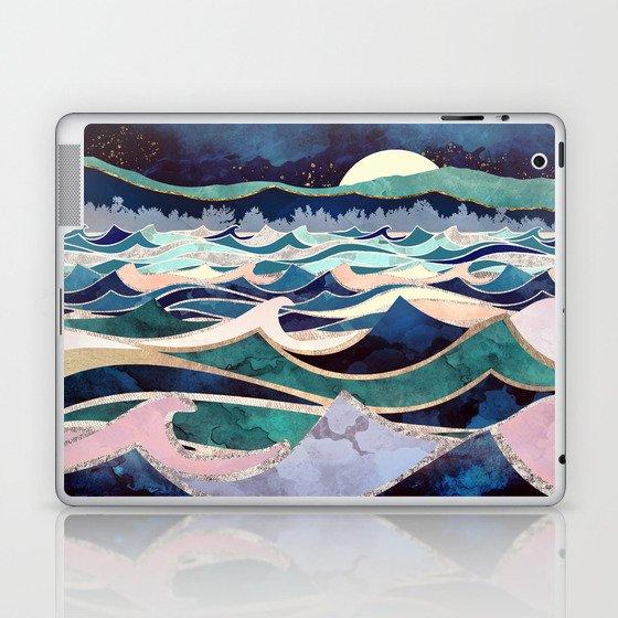 Moonlit Ocean Laptop & iPad Skin