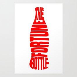 The Fortune Bottle Art Print