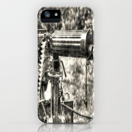 Vickers Machine Gun Vintage iPhone Case