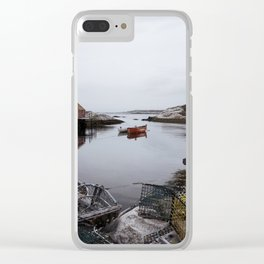 Peggy's Cove, NS Clear iPhone Case