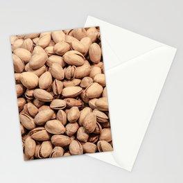 Pistachio Nut Pattern Stationery Cards