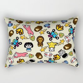 Bape x Baby Milo x Ice Cream Rectangular Pillow