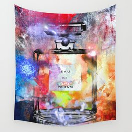 Parfum Painted Wall Tapestry