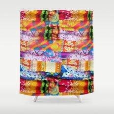Gipsy Blanket Shower Curtain