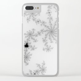 Mandelbrot apple males mathematics Clear iPhone Case