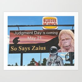 So Says Zaius Art Print