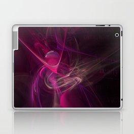 Pink swirl Laptop & iPad Skin
