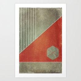 The Gods' Rival Art Print