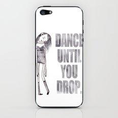 Dance dance dance iPhone & iPod Skin