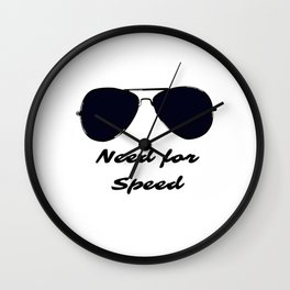 Need For Speed Wall Clock