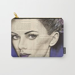 Purple Life Carry-All Pouch
