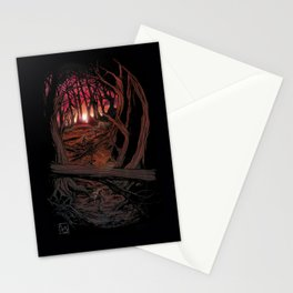 Children In the Wood Stationery Cards