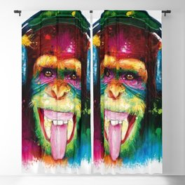 Monkey DJ Blackout Curtain