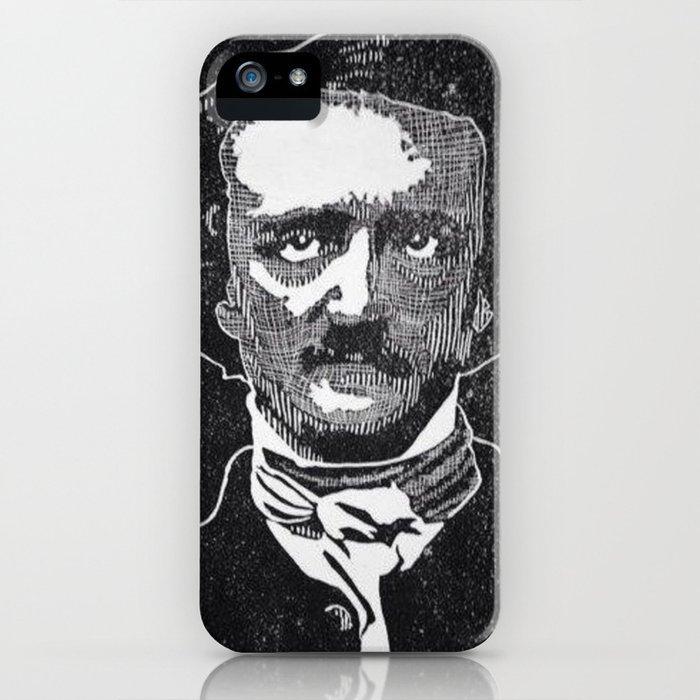 Writer of The Raven: Edgar Allan Poe iPhone Case